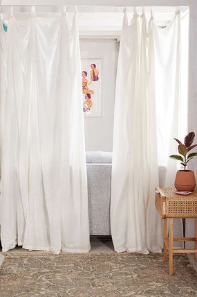 Urban Outfitters カーテン  UrbanOutfitters☆Knotted Window Curtain☆ 税関送料込(6)