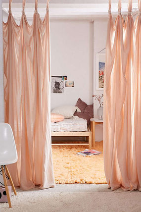 Urban Outfitters カーテン  UrbanOutfitters☆Knotted Window Curtain☆ 税関送料込(10)