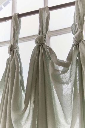 Urban Outfitters カーテン  UrbanOutfitters☆Knotted Window Curtain☆ 税関送料込(18)