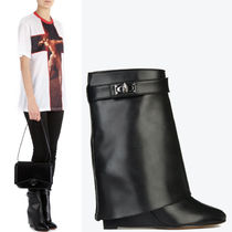 17-18AW G195 SHARK LOCK ANKLE BOOTS IN MAREMMA LEATHER