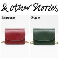 【&OtherStories】●日本未入荷●新作●Golden Chain Flap Bag
