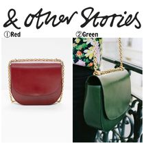 【&OtherStories】●日本未入荷●Chained Leather Saddle Bag