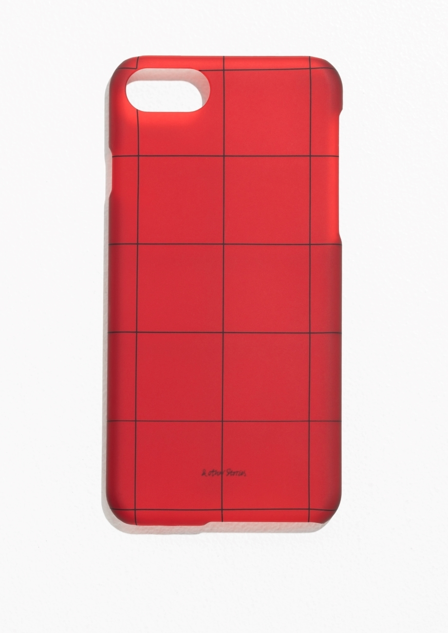 【&OtherStories】●日本未入荷●Grid iPhone 7 Case