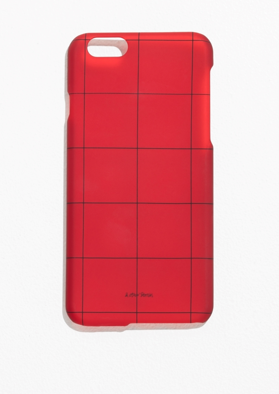 【&OtherStories】●日本未入荷●Grid iPhone 6 Case