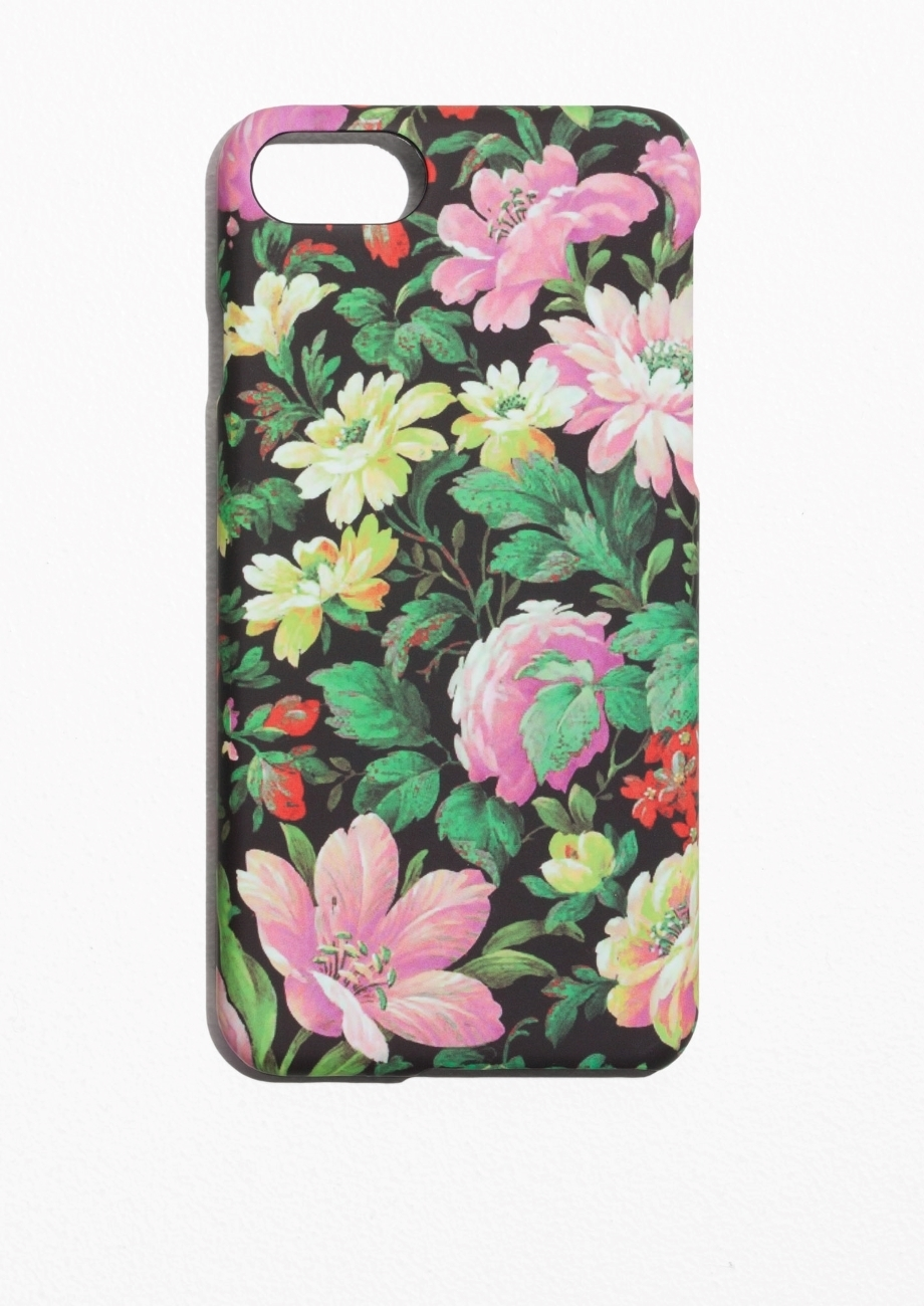 【&OtherStories】●日本未入荷●Floral iPhone 7 Case