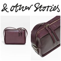 【&OtherStories】●日本未入荷●Structured Leather Crossbody