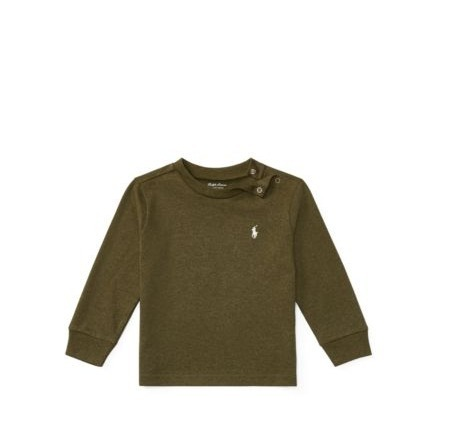 Ralph Lauren*cotton jersey crewneck t shirt 3~24ヶ月