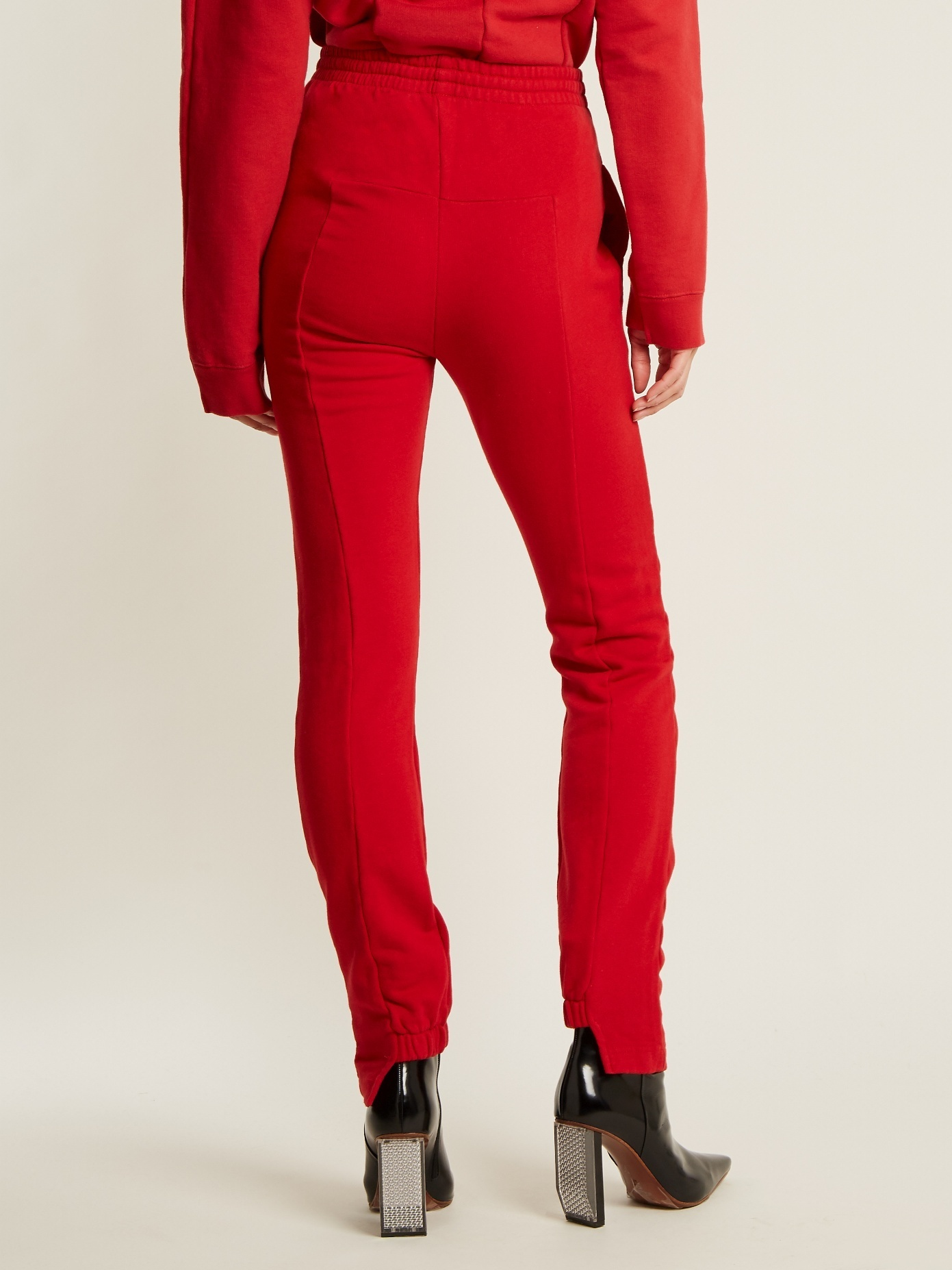 VETEMENTS  Slim-fit cotton-blend track pants