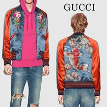 Gucci Acetate アップリケ bomber jacket  473008Z726B
