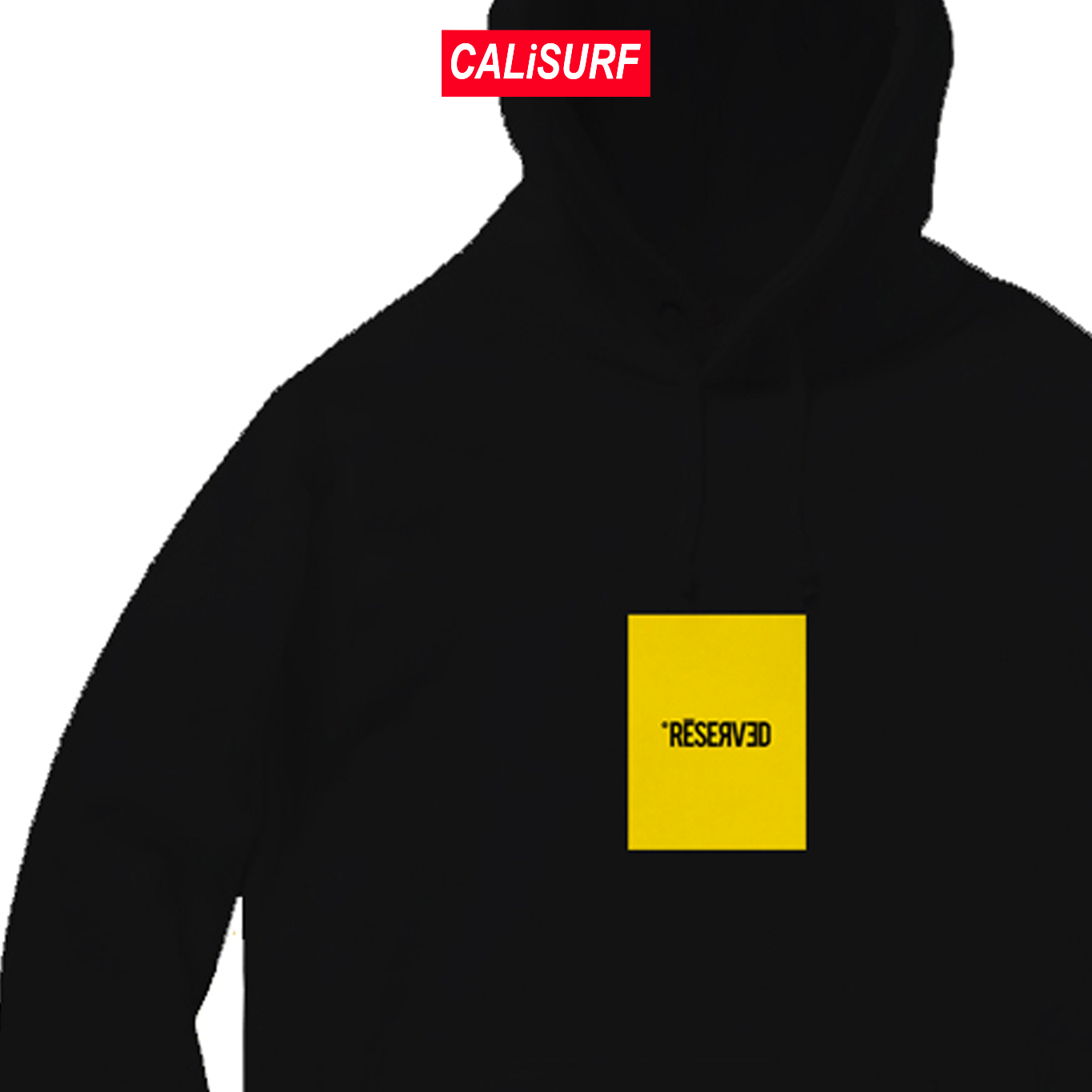 RESERVED(リザーブド)★Embroidered Logo Hoodie | Black | S