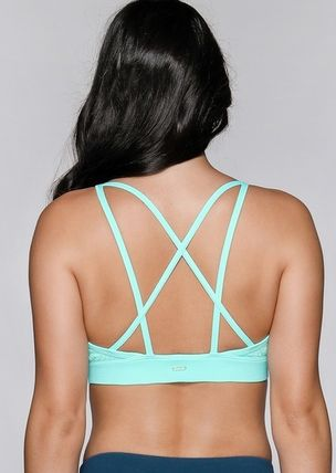 Lorna Jane フィットネストップス ★追跡有【Lorna Jane】Broderie Sports Bra★(3)