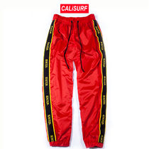 RESERVED(リザーブド)★Nylon Track Pant |RED| L