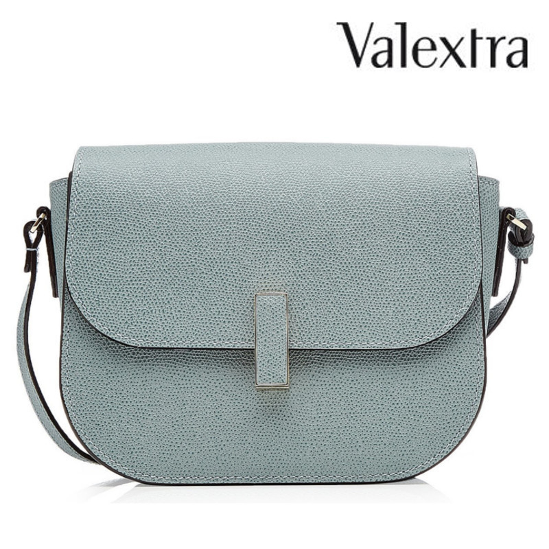 【17AW】大注目!!★VALEXTRA★Leather Shoulder Bag