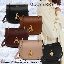 Mulberry☆Small Amberley Satchel -Grain Leather-