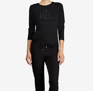 ★Lauren Ralph Lauren★Slim-FitロゴTシャツ★4色★