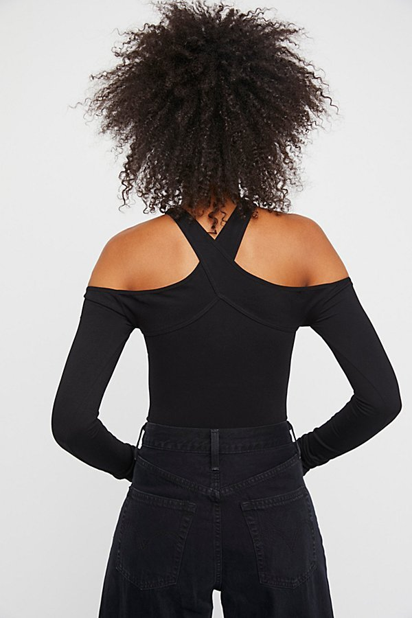Free People フリーピープル Seamless Wrap Neck トップス