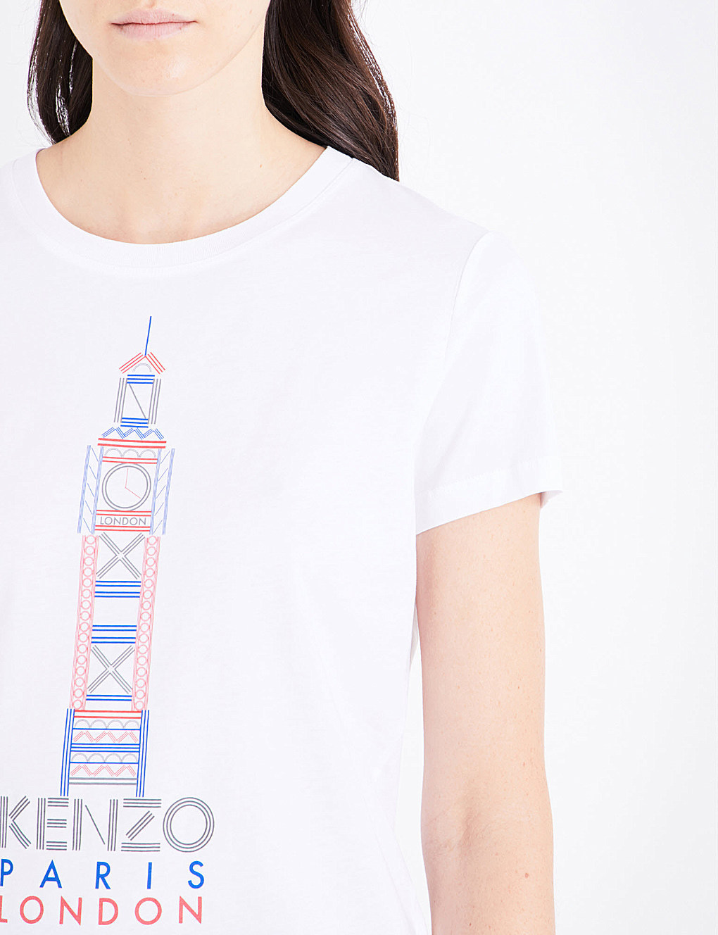 【国内発送】KENZO Big Ben cotton-jersey T-shirt