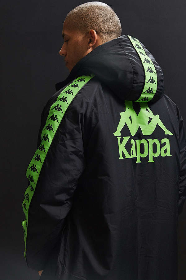 日本未入荷☆新作17AW☆Kappa X UO Hooded Parka Jacket
