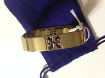 Tory Burch  LOGO SQUARE METAL BANGLE  セール!!!国内即発送