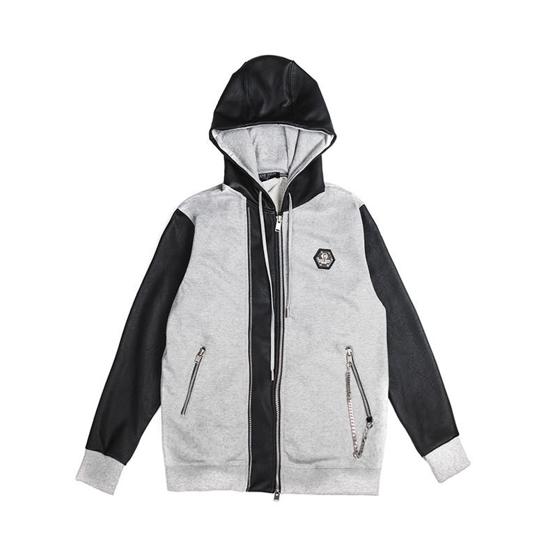 BTS着用ブランド ★CANE BROS★ Double Line Zip-Up Hoodie