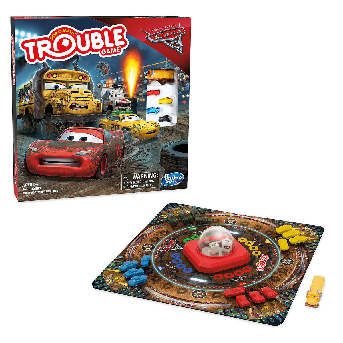 Trouble Game - PIXAR Cars 3 Edition
