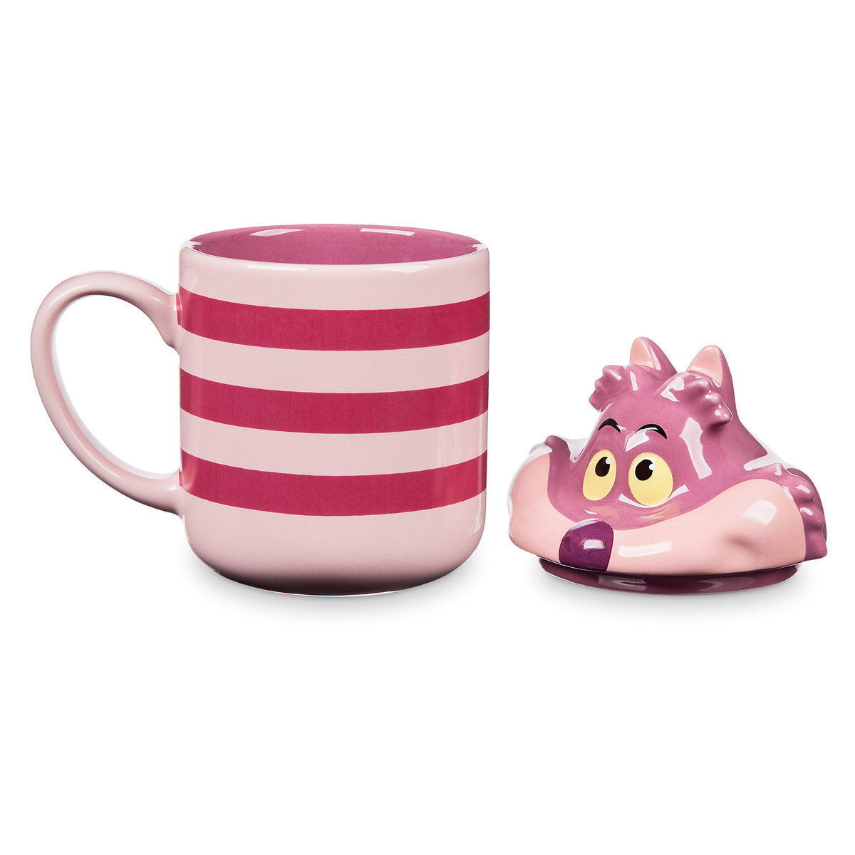 Cheshire Cat Peek-a-Boo Lid Mug