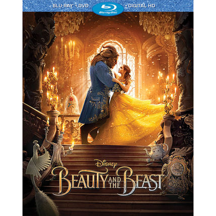 Beauty and the Beast - Live Action Film - Blu-ray Combo