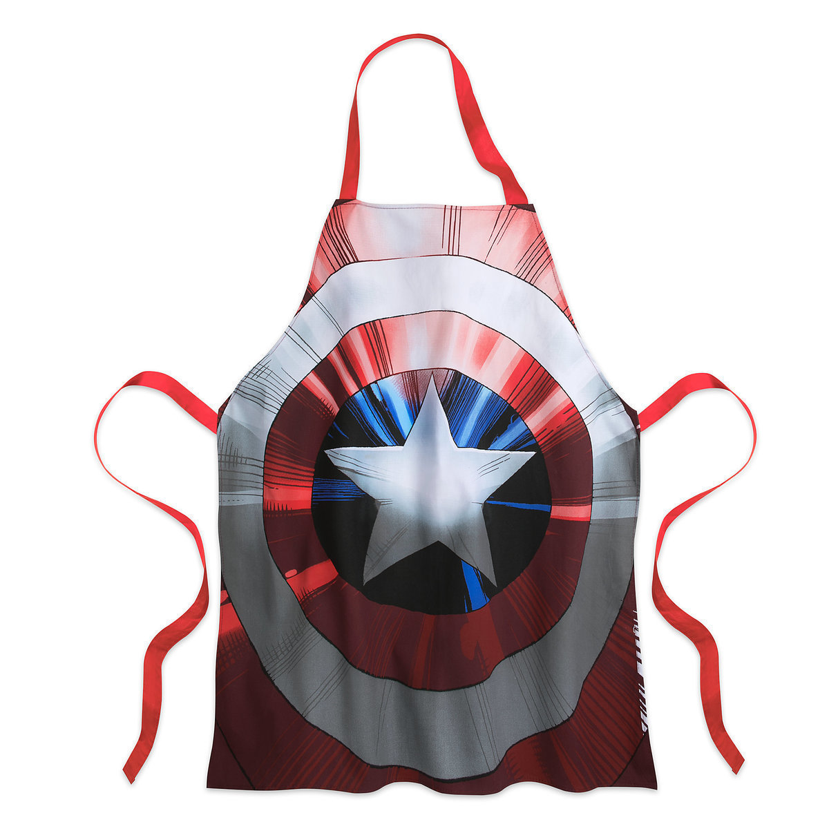 Captain America Apron for Adults