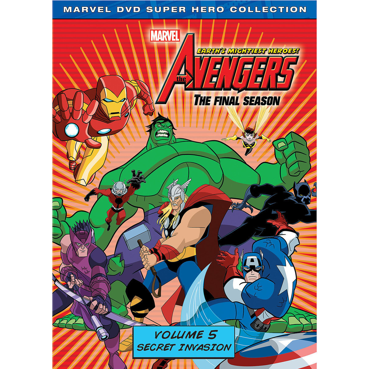 Marvel's The Avengers: Earth's Mightiest Heroes DVD Volume