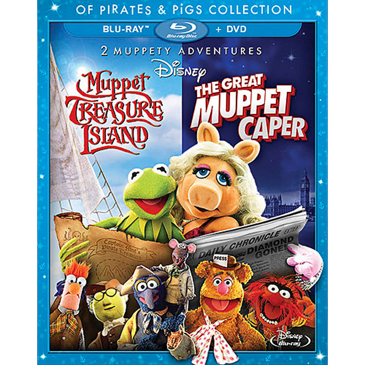 Muppet Treasure Island u0026 The Great Muppet Caper 2-Movie