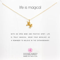 Dogeared(ドギャード)life is magical ユニコーンネックレスGold