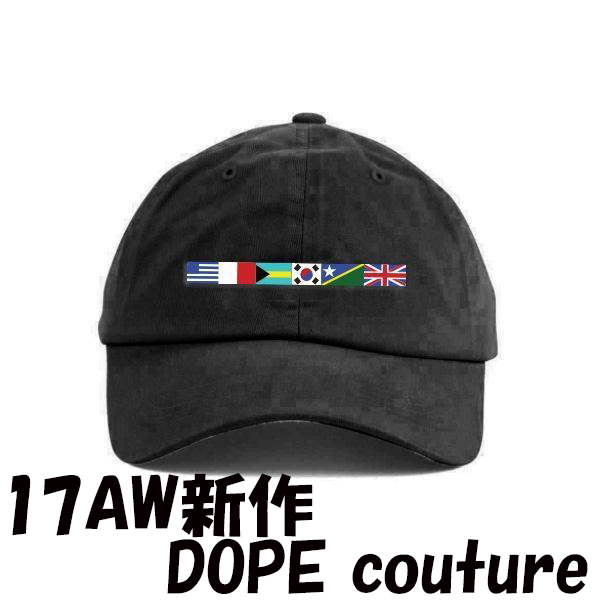 17AW新作 DOPE couture TOURNAMENT キャップ