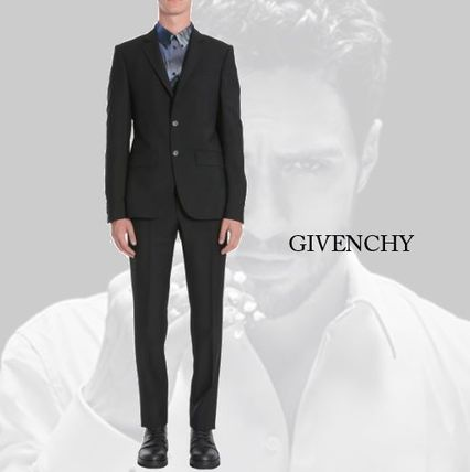 【GIVENCHY】WOOL AND MOHAIR CLASSIC SUIT