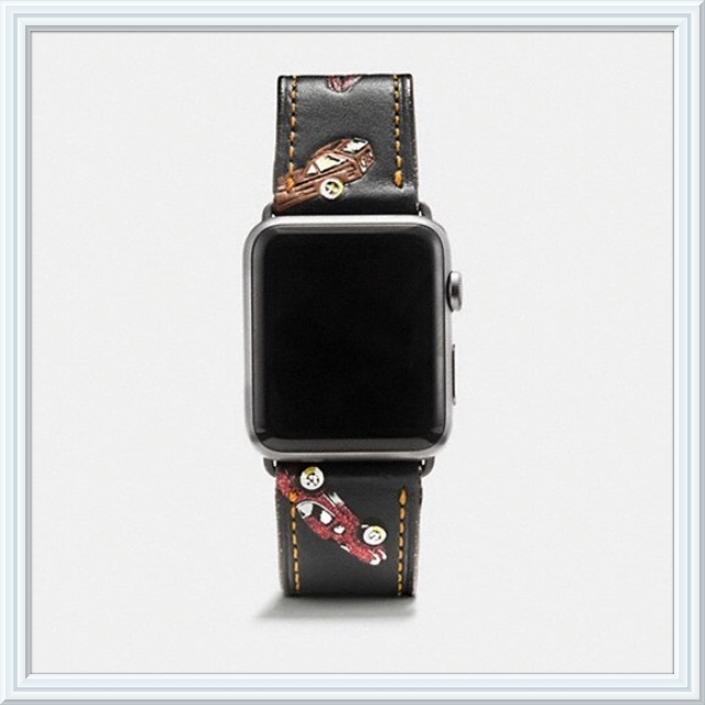 ☆COACH☆ Apple Watch 42MM バンド 車