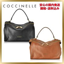 COCCINELLE(コチネレ) ハンドバッグ ◇COCCINELLE ◇ Atsuko Leather Satchel Bag 【関税送料込】