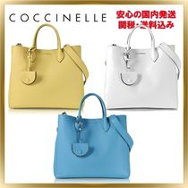 COCCINELLE(コチネレ) トートバッグ ◇COCCINELLE ◇ Jamila Pebbled Leather Tote 【関税送料込】