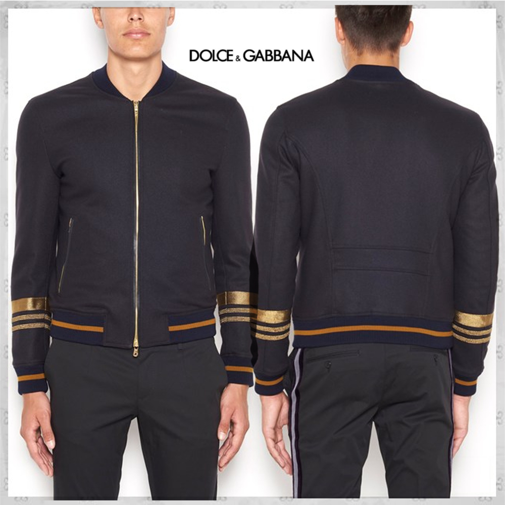 国内発送・関税込DOLCE & GABBANA ZIPPED STRETCH JACKET