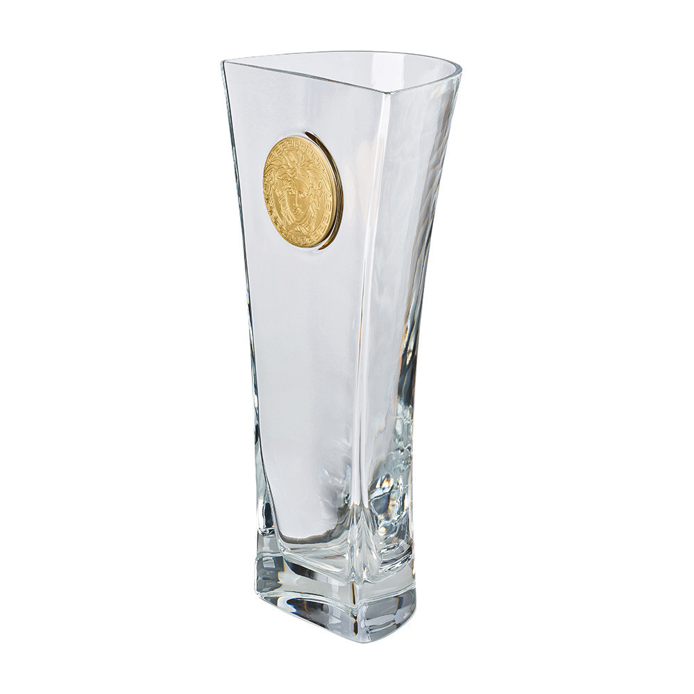 Versace Medusa Madness Clear Vase - 40cm 【送料・関税込】