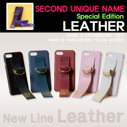 [SECOND UNIQUE NAME] LEATHER  EDITION / iPone全機種 ★BEST★