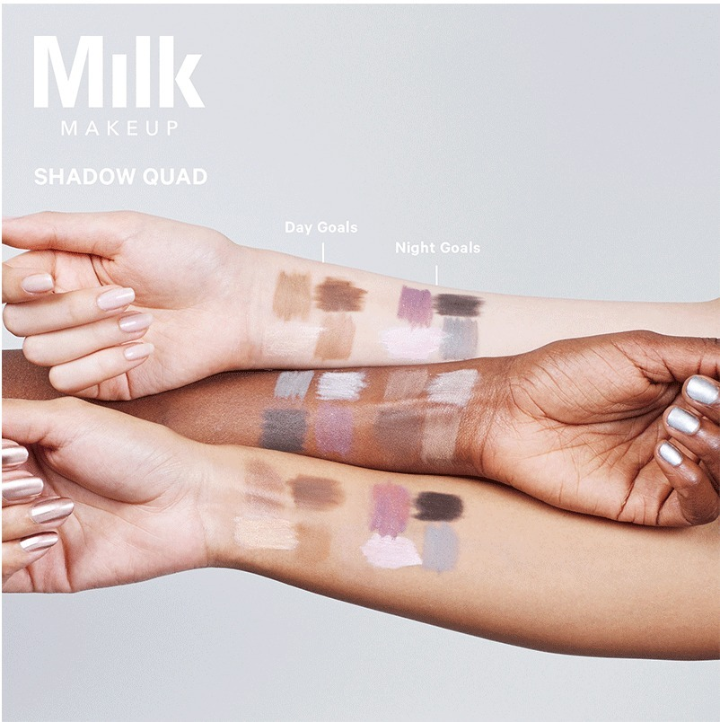 Shadow Quad Modern eye shadow  【Night Goals - Smokey Quad】