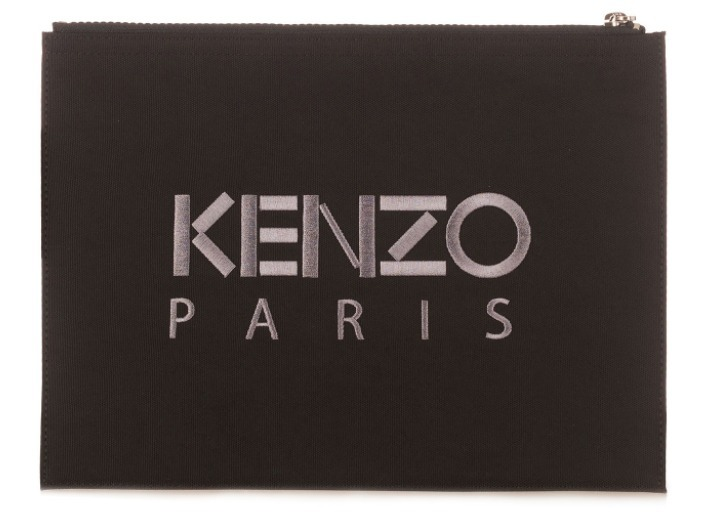 【KENZO(ケンゾー)】Tiger Pouch Black
