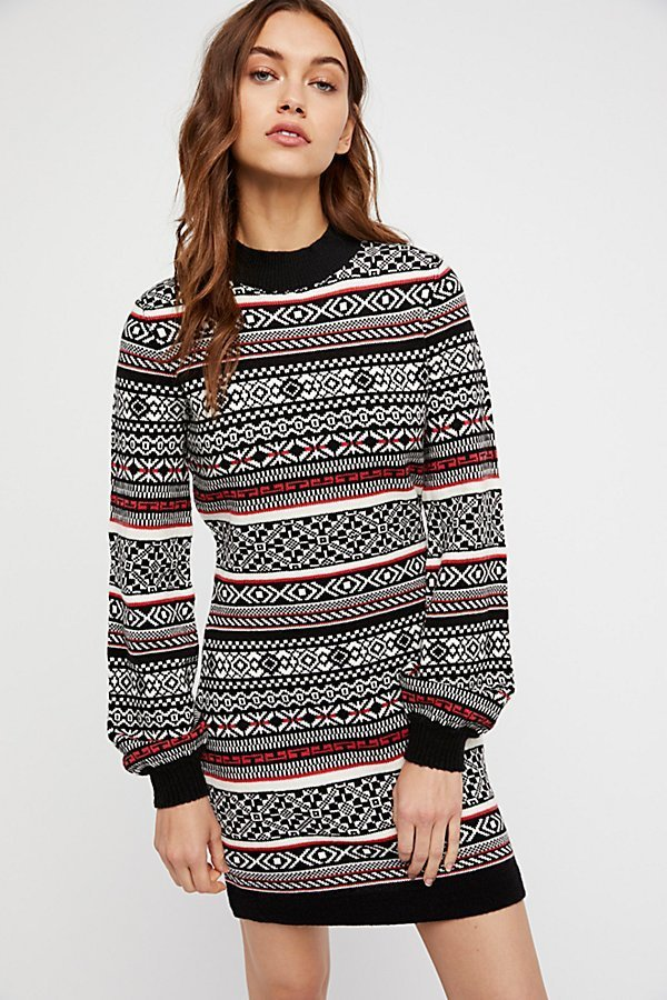 【 Free People 】By The Fire Sweater Dressセータードレス