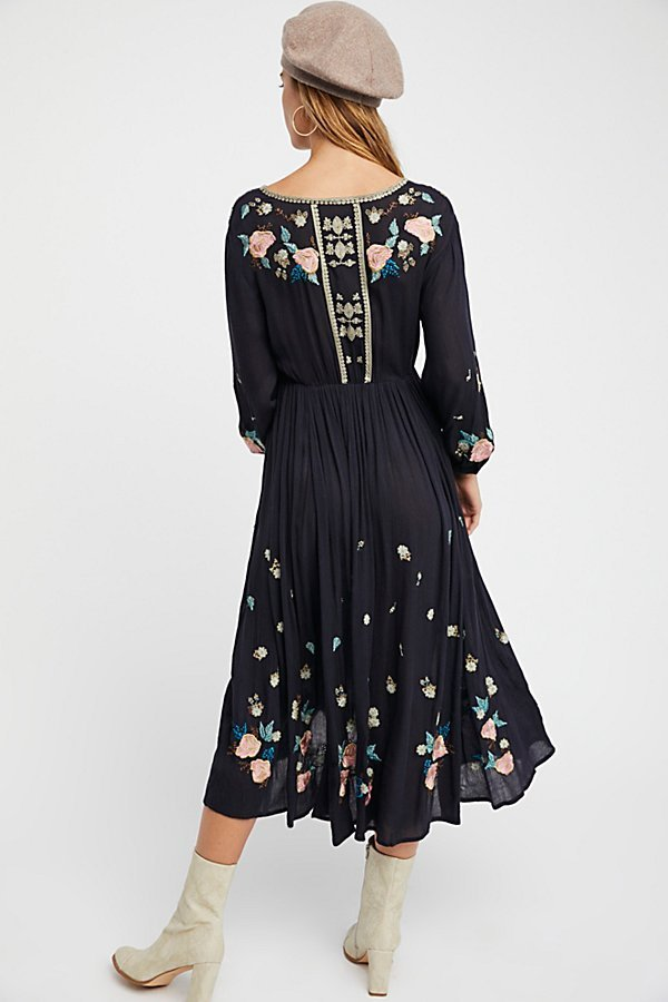 【 Free People 】The Enchanted Forest Midi Dressミディドレス