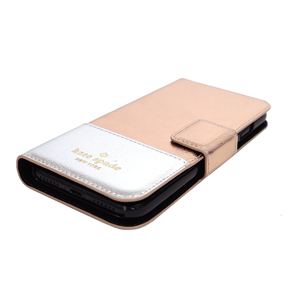 【即発◆3-5日着】kate spade◆iPhone7◆Metallic Wrap Folio-7