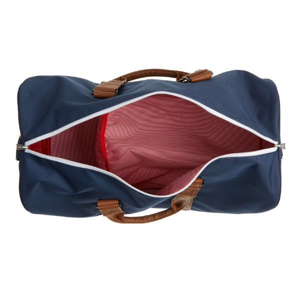【関税・送料込】'Novel' Duffel Bag(Navy/Tan)