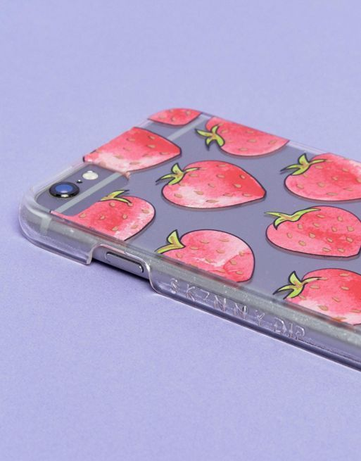 送料込 Skinnydip Strawberry iPhone 6/6S/7/8 Case ケース