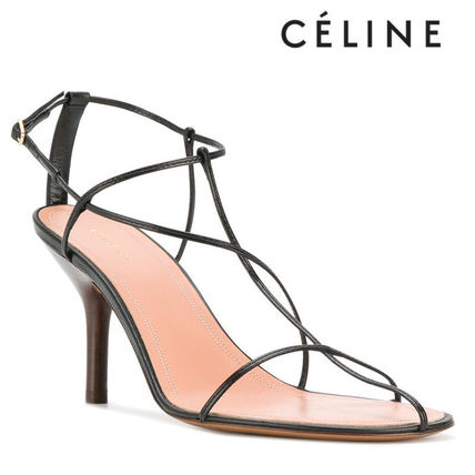 【18SS】大注目!!★CELINE★barely there sandals