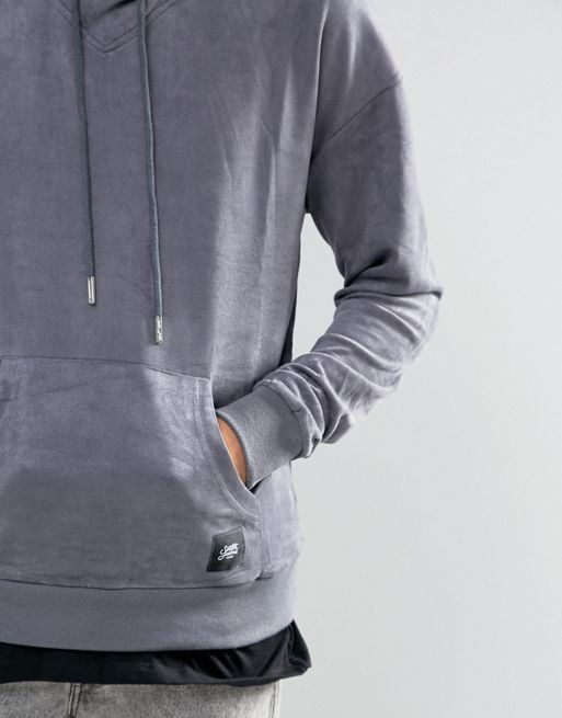 フランス発!【Sixth June】 Hoodie In Grey Su送料込