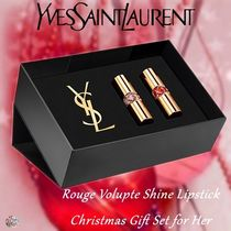 クリスマス限定!YSL☆Rouge Volupte Shine Lipstick Gift Set