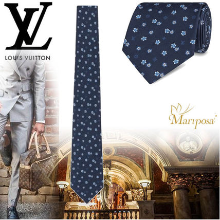 17AW 【新作】 ルイヴィトン LV Ibiscus Tie☆ネクタイ☆5色